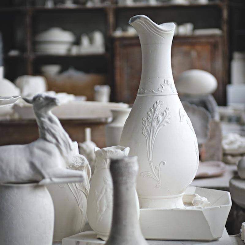 La porcelaine de Limoges, le royaume du blanc