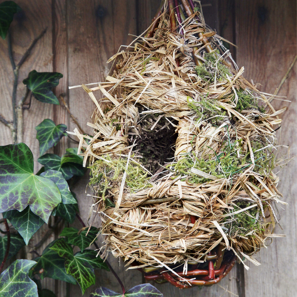Tuto facile: un nichoir à oiseaux à fabriquer facilement avec ce que vous avez dans votre jardin