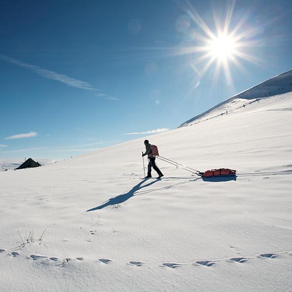 Randonnée d'hiver en Auvergne : une ambiance grand nord