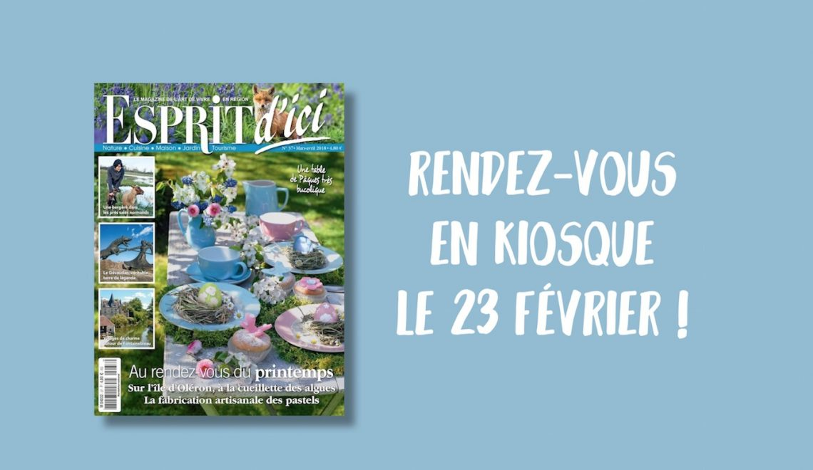 Esprit d'Ici 37 : invitation de printemps