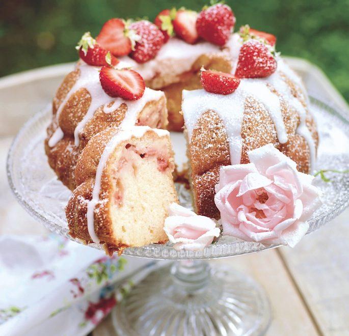 Brioche aux fraises