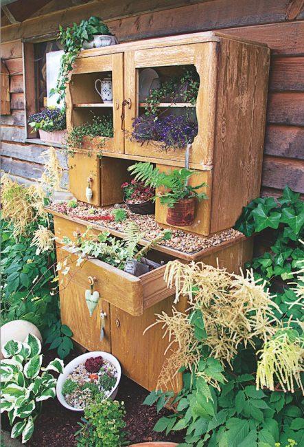 DIY recup jardin
