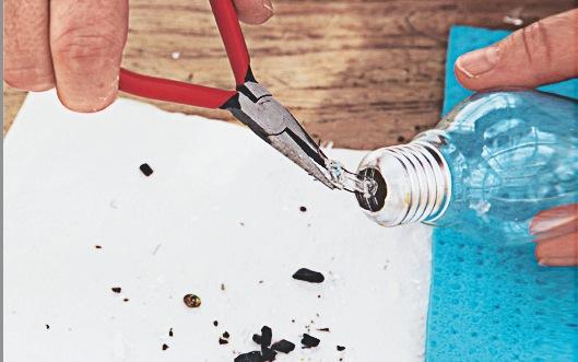 DIY recup vase-ampoule