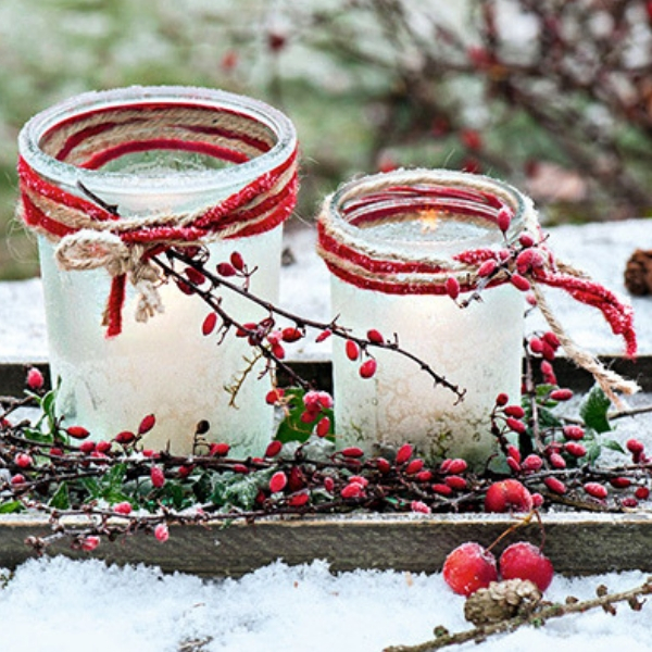 7 Idees De Decorations De Noel Vegetales A Faire Soi Meme Le Blog D Ici