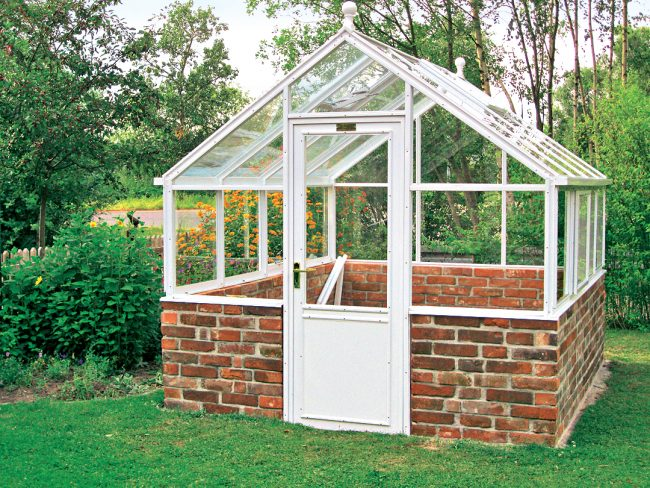 Serre de jardin comment fabriquer une serre de jardin - Accessoires serre de jardin ...
