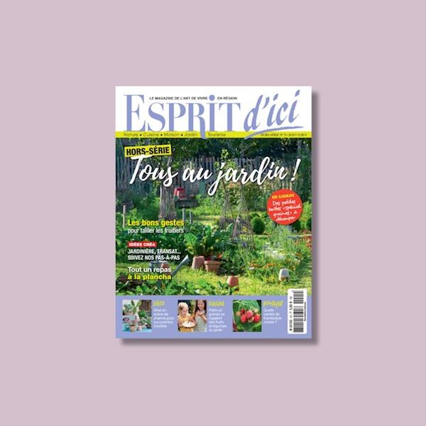 Esprit d'Ici hors série spécial jardin : un été à savourer