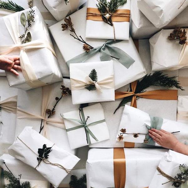 diy paquets cadeaux Noël