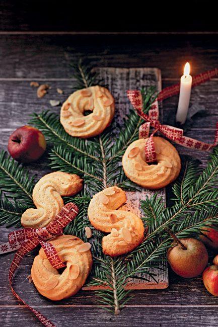 Recette de Noël : biscuits sablés aux amandes