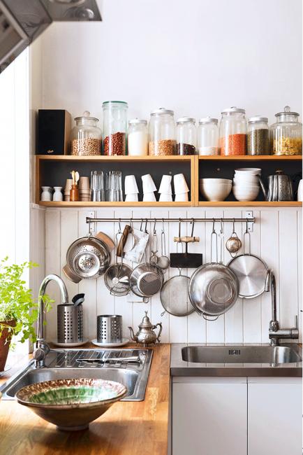 ménage naturel pour cuisine propre