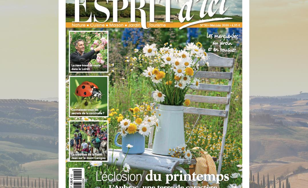 Esprit d'ici n°50 : l'éclosion du printemps