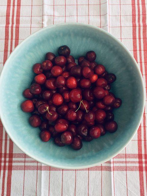 Recette facile chutney pommes-cerises