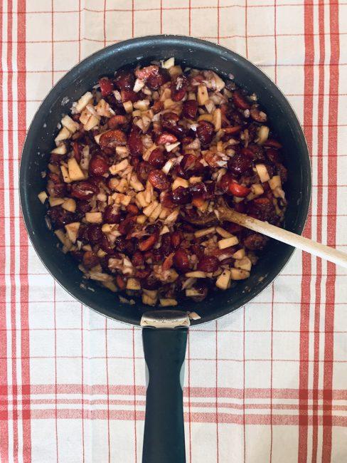 Recette facile chutney pommes cerises
