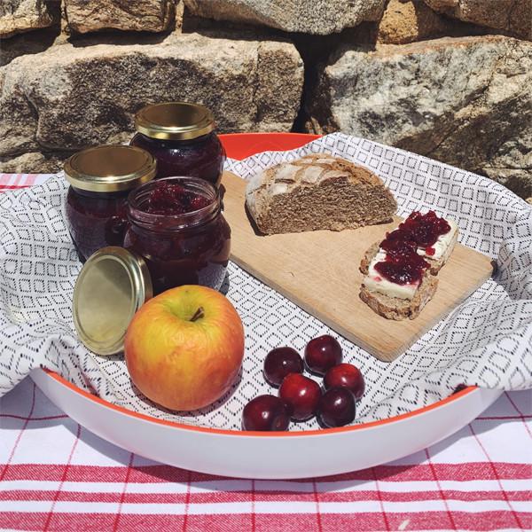 Recette facile d'été : le chutney pommes-cerises