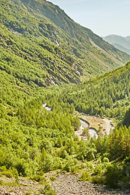 itinéraire de randonnée dans les Hautes-Alpes pour des vacances en France