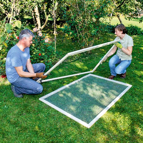 DIY : comment fabriquer un tamis pour son compost