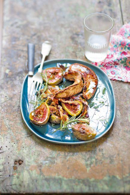 recette aiguillettes canard figues