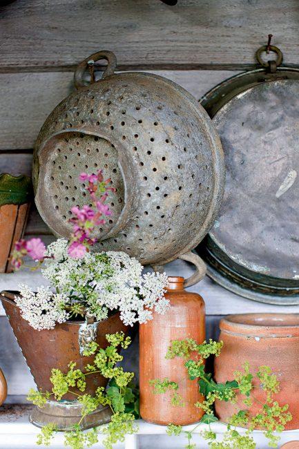 Déco récup : mille et un objets à récupérer pour décorer son jardin