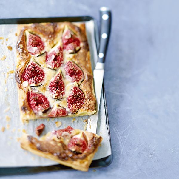 Tarte fine amandes et figues : une recette gourmande