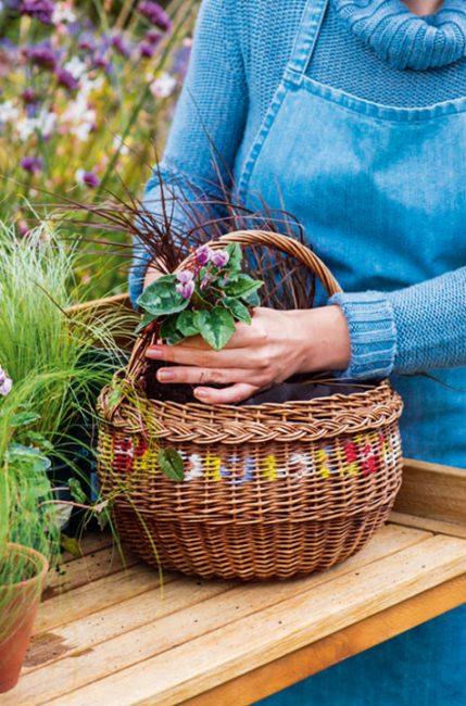 DIY : Tuto facile pour fabriquer un panier d'automne