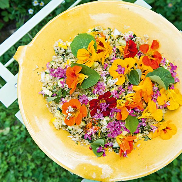 Comment cuisiner des fleurs ?
