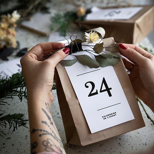 Noël : plus de 20 idées de calendriers de l'Avent à faire soi-même