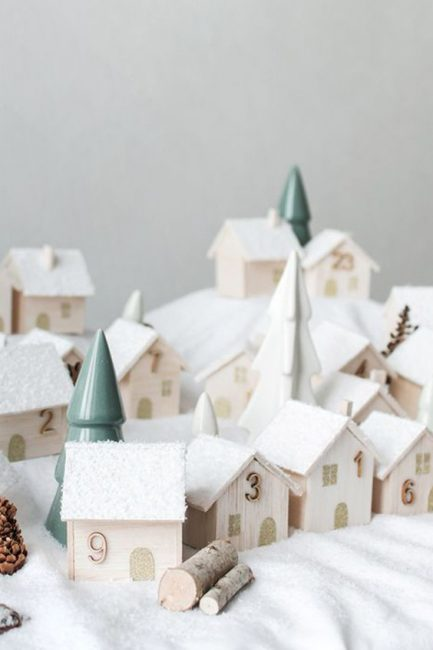 Noël : plus de 25 idées de Calendriers de l'Avent à faire soi-même