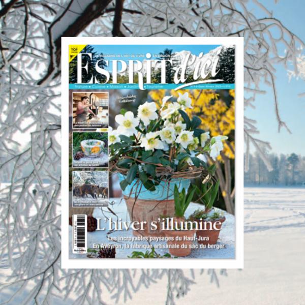 Esprit d'Ici n°54, l'hiver s'illumine