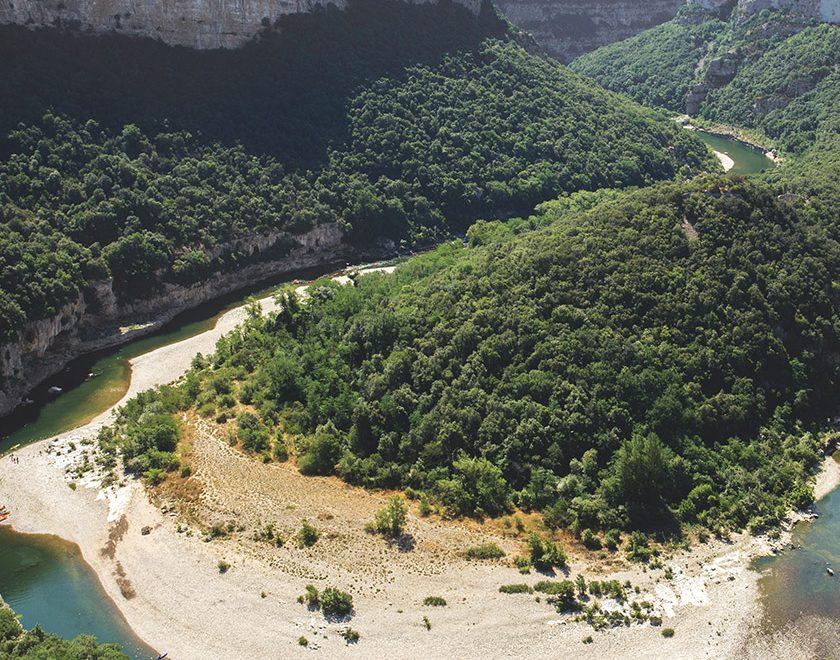 Vacances en France : l'Ardèche