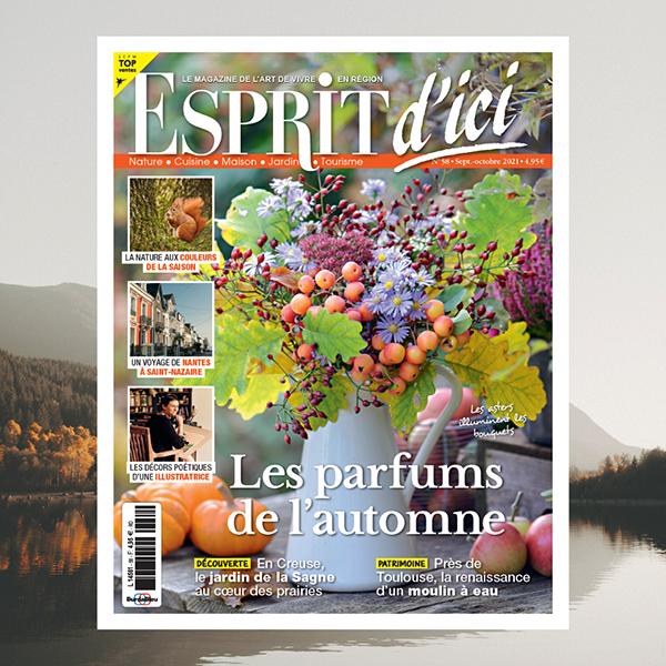Esprit d'Ici n°58 : les parfums de l'automne